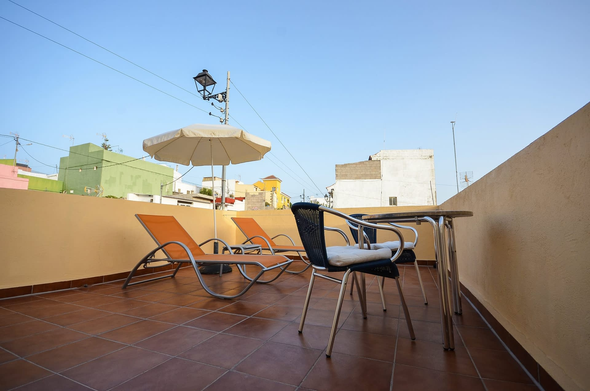 Yellow Apartment Sun Terrace 2